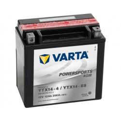 YTX14-4 / YTX14-BS VARTA AGM powersports type YTX14-4 / YTX14-BS