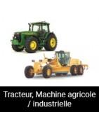 Tracteur, Machine agricole / industrielle