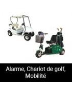 Alarme, Chariot de golf, Mobilité
