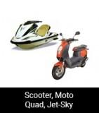 Scooter, Moto, Quad, Jet-Sky