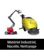 Matériel industriel, Nacelle, Nettoyage