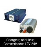 Chargeur, Onduleur, Convertiseur 12V 24V